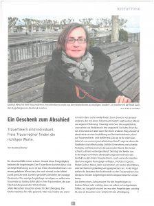 Trauerrednerin Gudrun Miessl